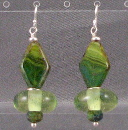 Limey Forest Earrings