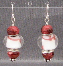 Persimmon Twist Earrings