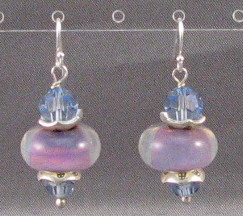 Lavender Berry Earrings