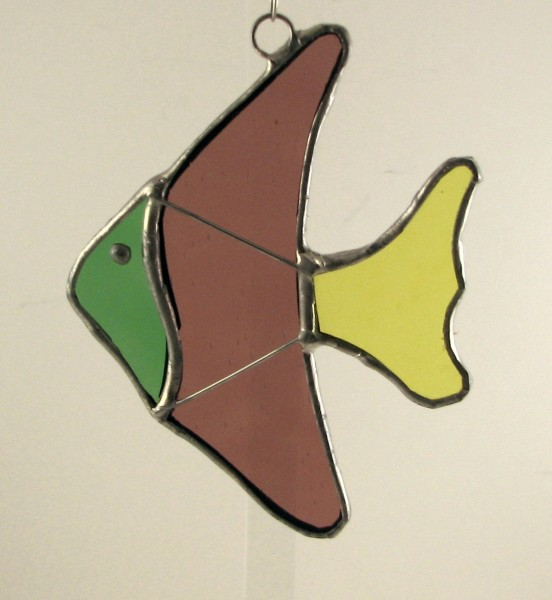 Angel Fish Suncatcher Ornament