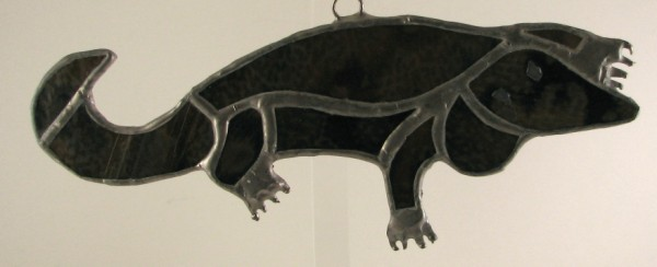 Aligator Suncatcher Ornament