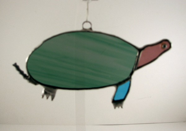 Sea Turtle Sun Catcher Ornament