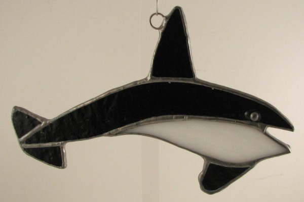 Killer Whale Suncatcher Ornament